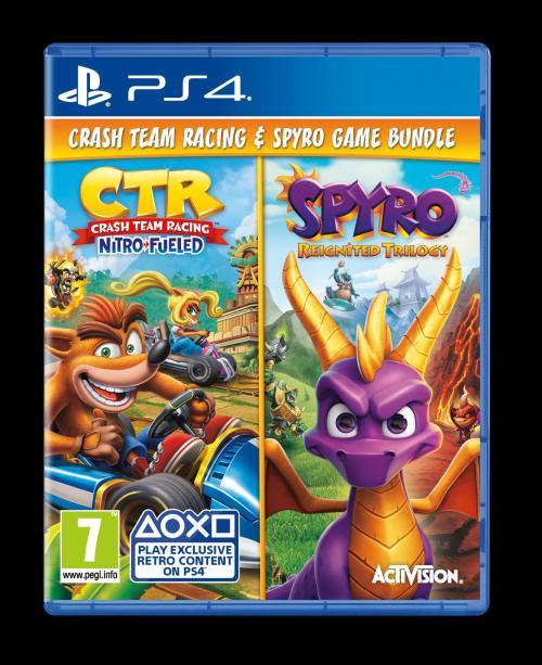 Crash Band Trilogy & Spyro Trilogy (Box UK)