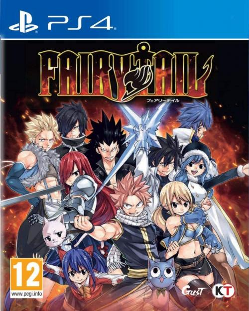 Fairy Tail ( JPN voice + UK & FR Text)