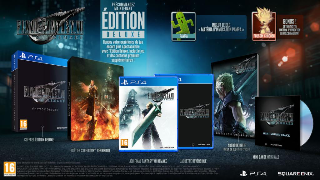SOLD OUT - Final fantasy VII Remake Deluxe Edition - NO RE-ORDER_1