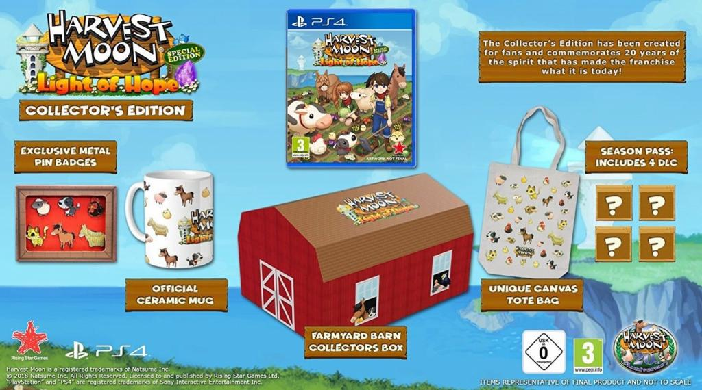 Harvest Moon - Light of Hope Collector's Edition