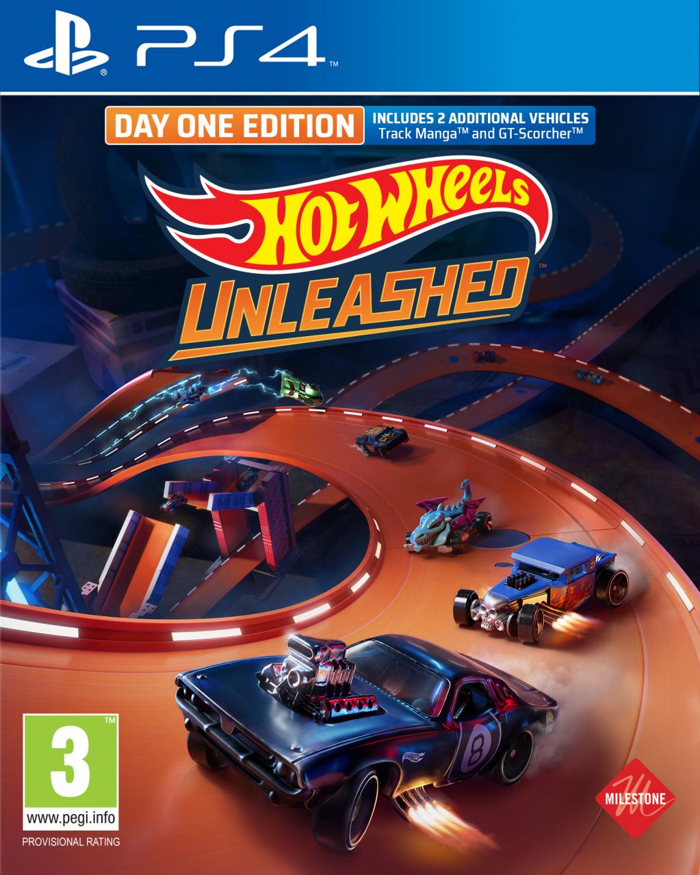 Hot Wheels Unleashed Day One Edition_1