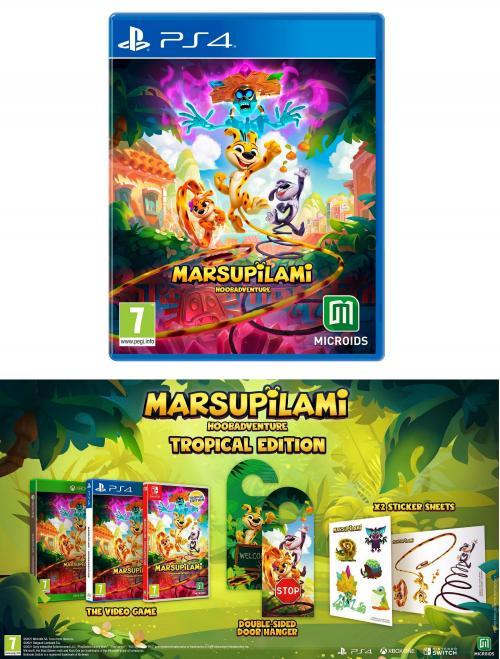 Marsupilami: Le Secret Du Sarcophage Edition Tropicale