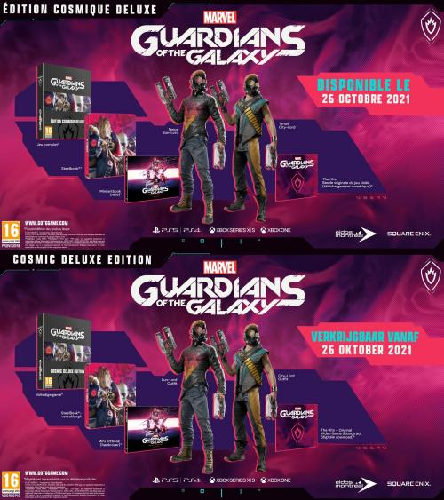 Marvel's Guardian of The Galaxy Cosmic Deluxe Ed - Upgrade PS5 inclus