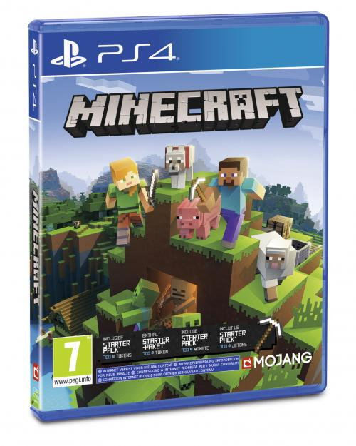 Minecraft Bedrock Playstation 4 Edition