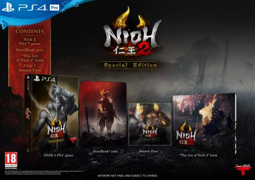 Nioh 2  Special Edition (PS4 Only)