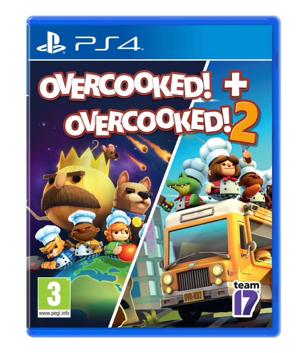 OVERCOOKED DOUBLE PACK – OVERCOOKED 1 & OVERCOOKED 2