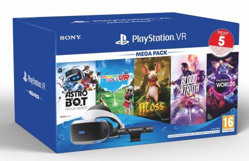 PLAYSTATION VR MEGA PACK  New  (PS4 & PS5 compatible)