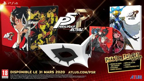 Persona 5 Royal Premium Phantom Thieves ( JPN & UK voice + EFIGS TEXT)