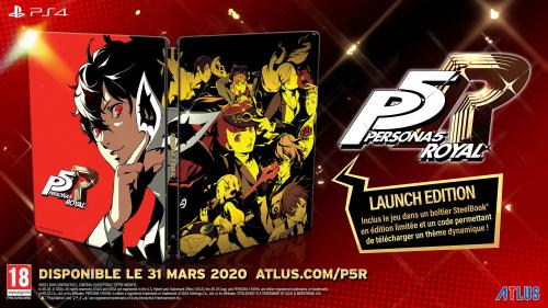 Persona 5 Royal Steelbook Launch Edition (JPN & UK voice + EFIGS TEXT)