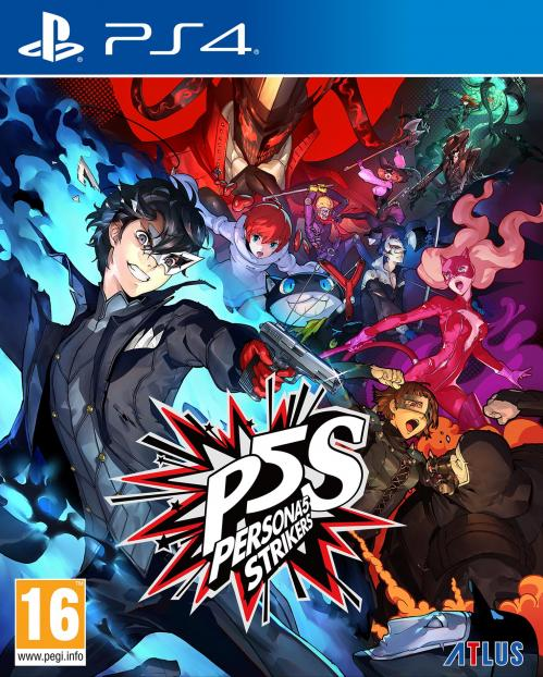 Persona 5 Strikers Limited Edition / JPN UK (voice) - E F I G S (text)