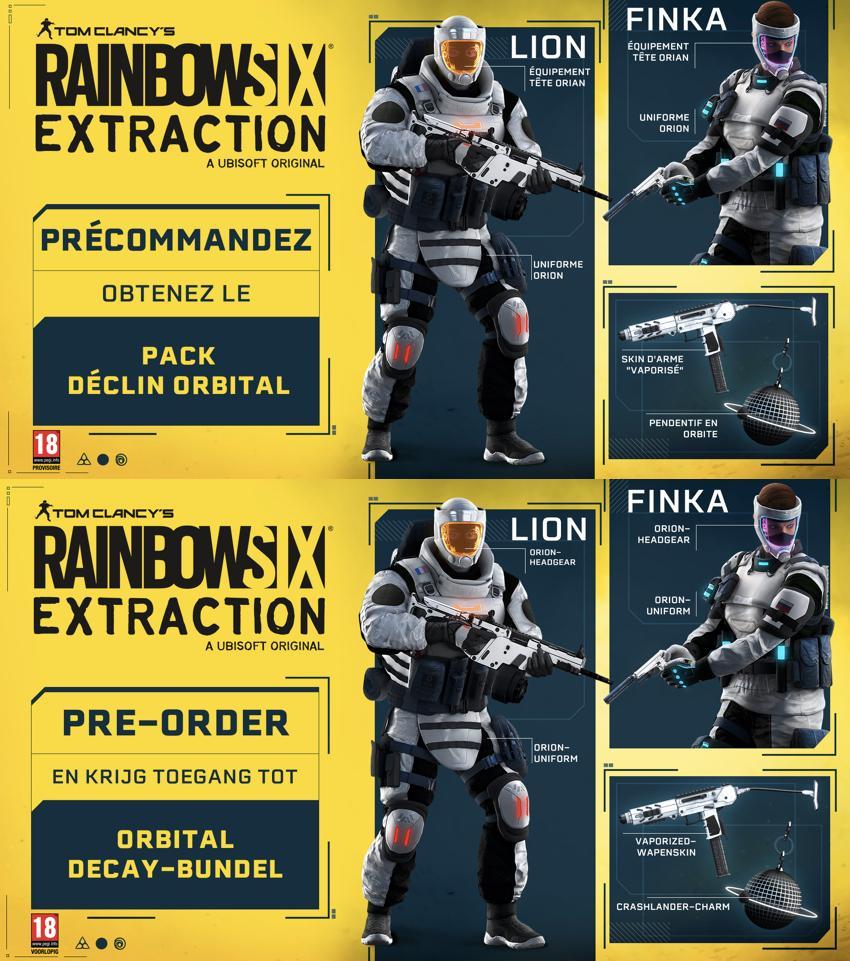 Rainbow Six Extraction  - UPGRADE PS5 free_2