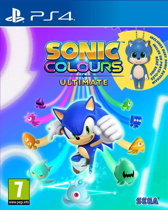 Sonic Colours Ultimate - Day One Edition incl. Baby Sonic Keyring_1