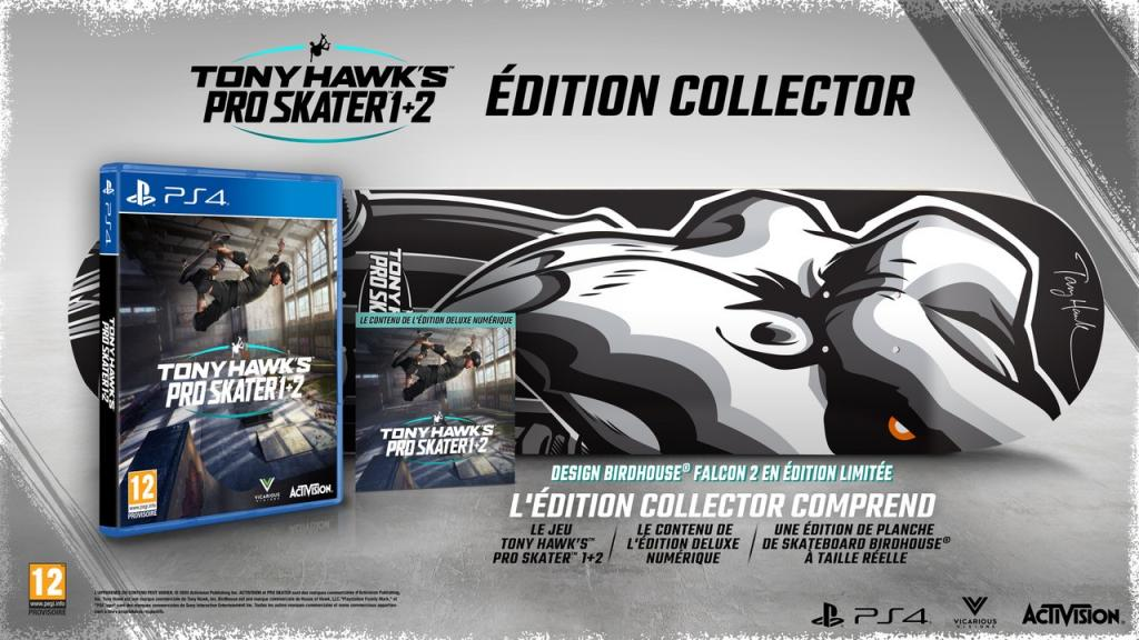 Tony Hawk Pro Skater 1+2 Collector Edition - Sold out_1