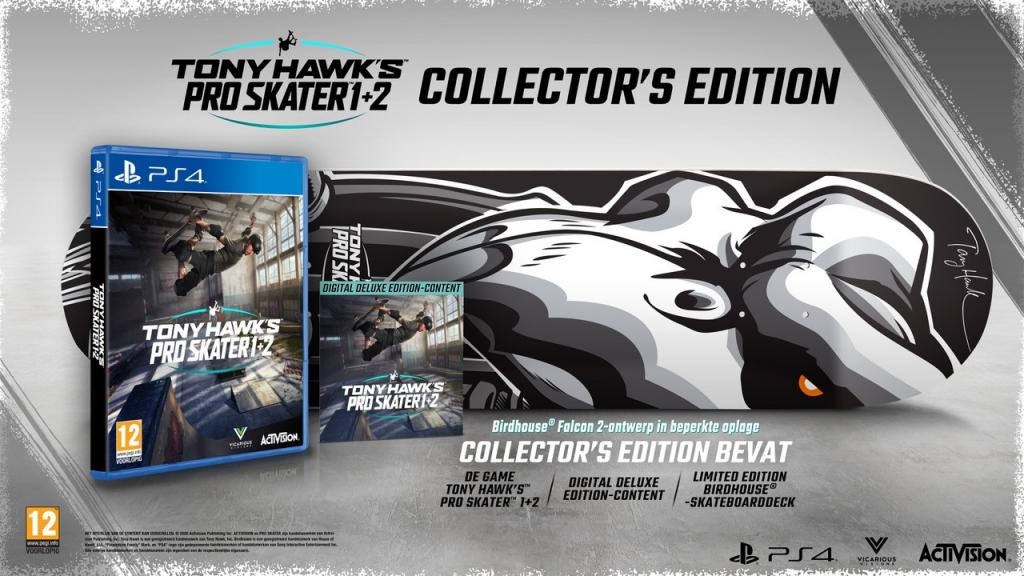 Tony Hawk Pro Skater 1+2 Collector Edition - Sold out_2