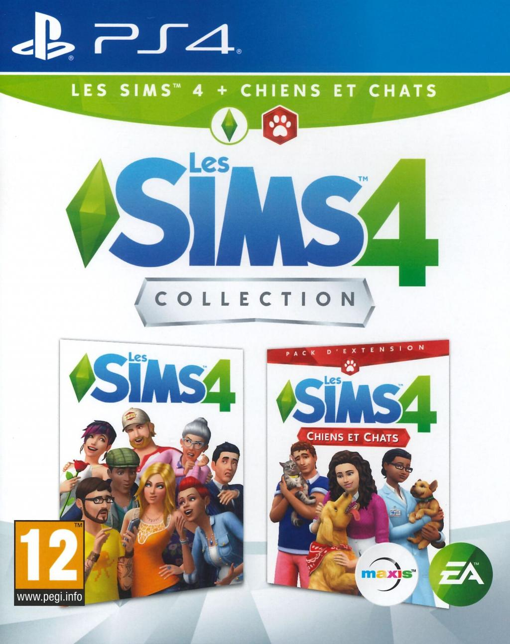 Les Sims 4 Collection - Sims 4 + Chats & Chiens (Extention Pack)