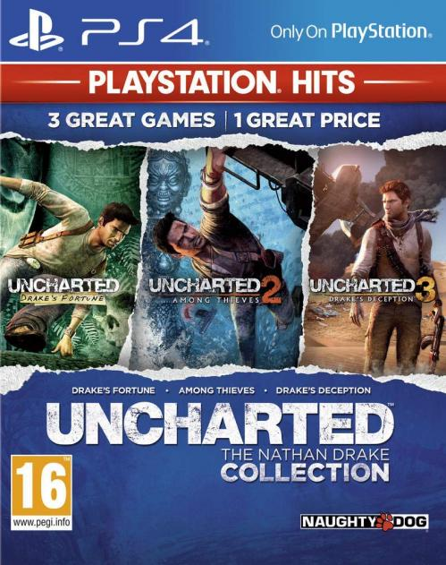 Uncharted Nathan Drake Collection (PS4 Only) HITS