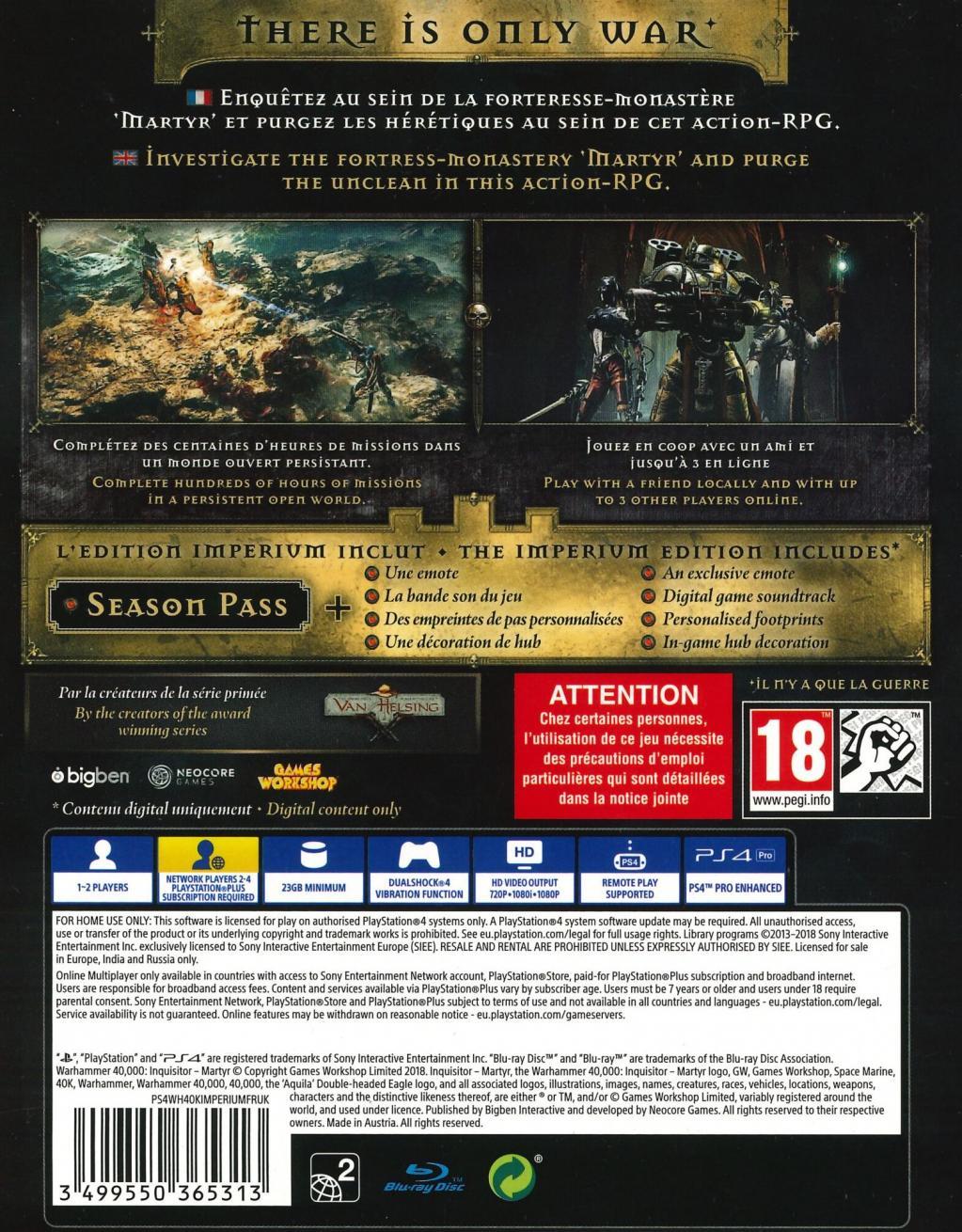 Warhammer 40K Inquisitor Martyr Imperium Edition_2