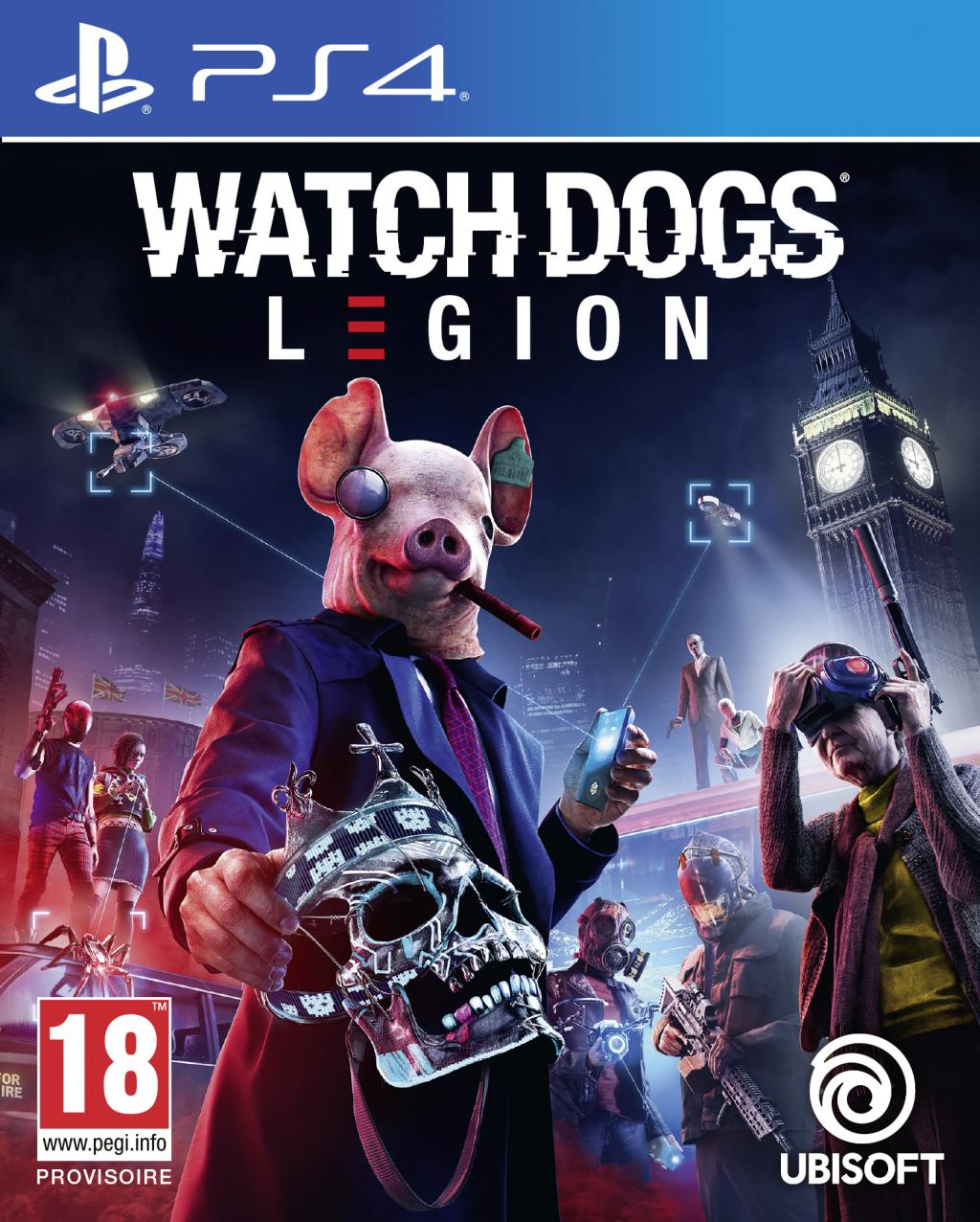 Watch Dogs Legion - UPGRADE PS5 free_2