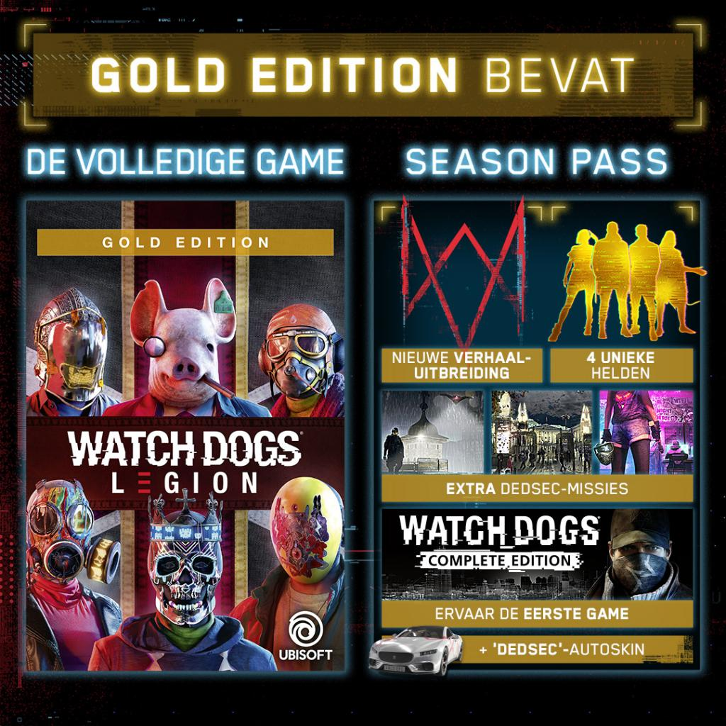 Watch Dogs Legion Gold Edition - UPGRADE PS5 free_3