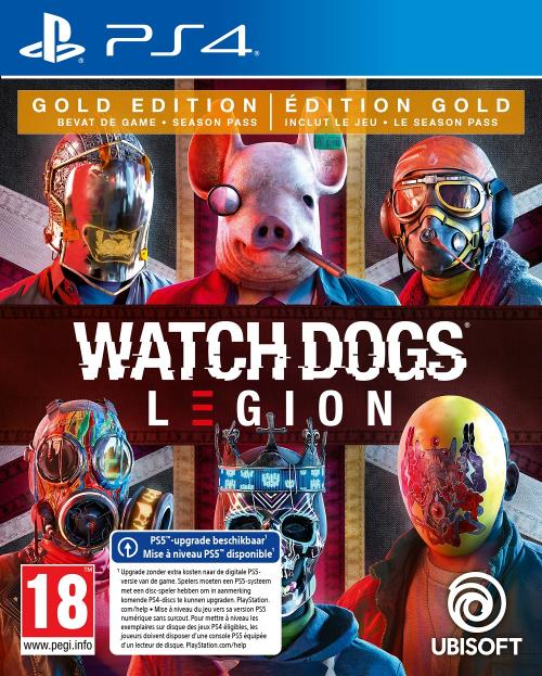 Watch Dogs Legion Gold Edition - UPGRADE PS5 free
