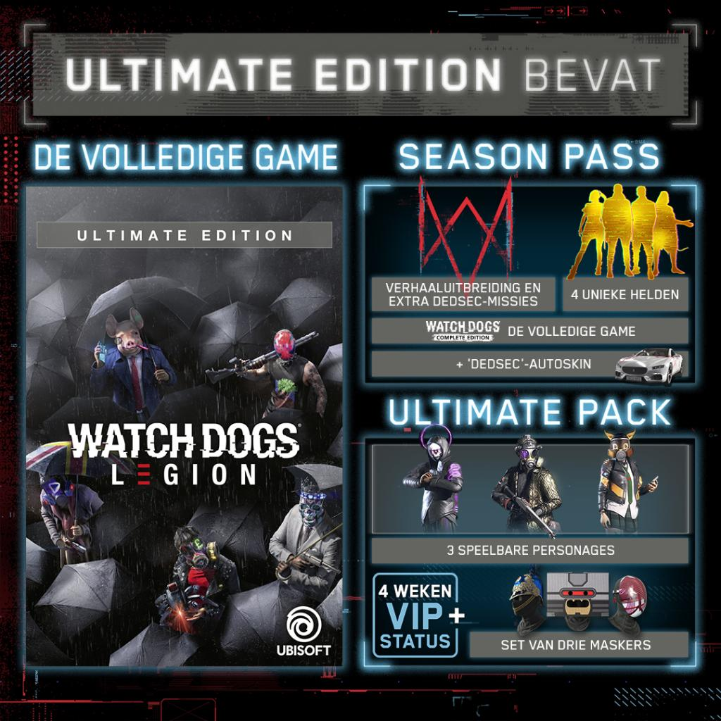 Watch Dogs Legion Ultimate Edition + Figurine The Resistant of London_3