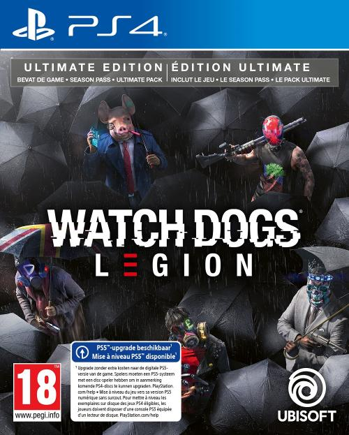 Watch Dogs Legion Ultimate Edition  - UPGRADE PS5 free