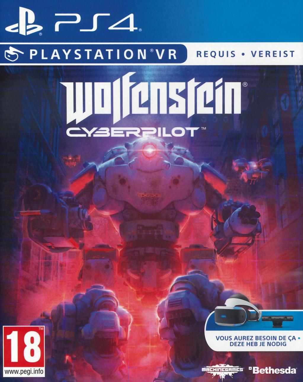 Wolfenstein : Cyberpilot Playstation VR