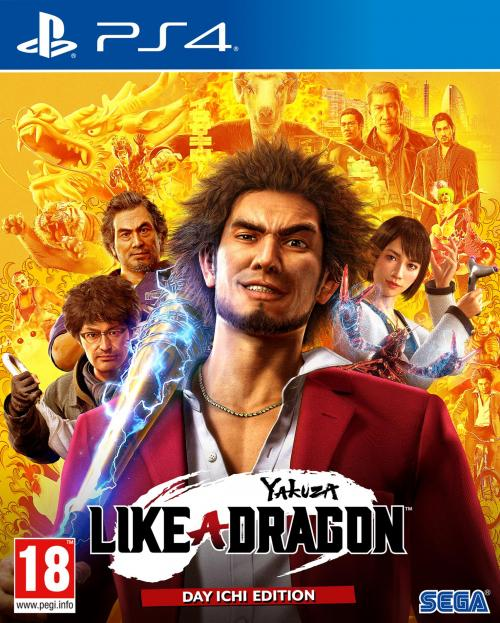 Yakuza: Like A Dragon - Day Ichi Edition (JPN & UK voice)  UPGRADE PS5