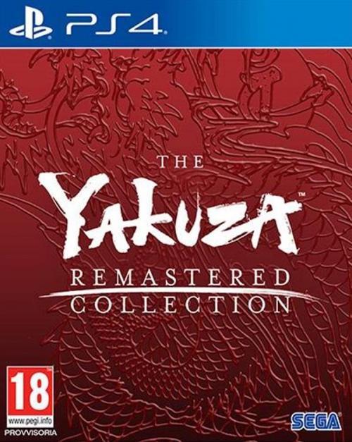 Yakuza Remastered Collection (UK BOX & JPN voice)