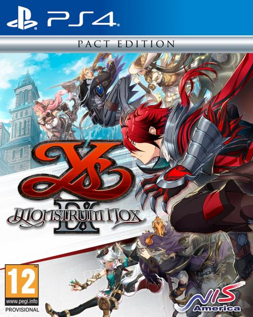 Ys IX : Monstrum Nox Pact Edition