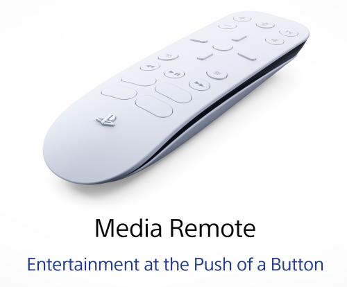 Media Remote - PS5