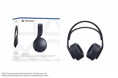 Pulse 3D Wireless Headset Black