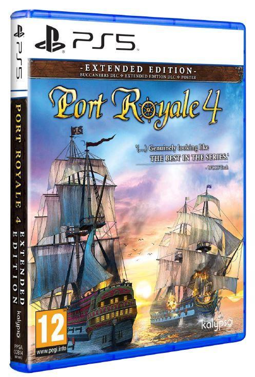 Port Royale 4 (BOX UK)