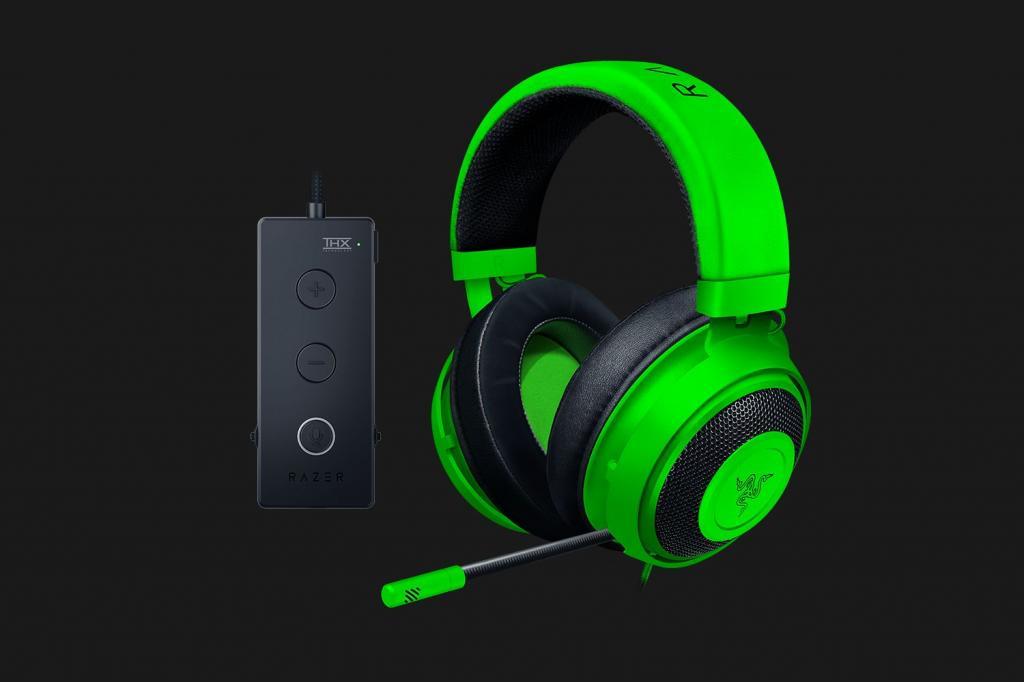 RAZER - Kraken Tournament Edition THX Gaming Headset Green
