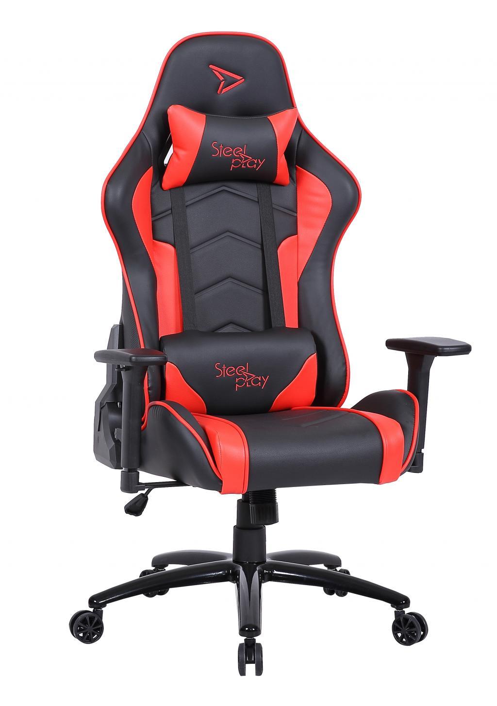 STEELPLAY - Gaming Seat Black/Red