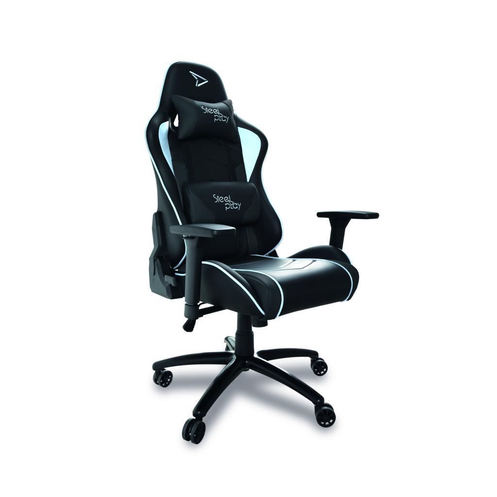STEELPLAY - Gaming Seat Black/White
