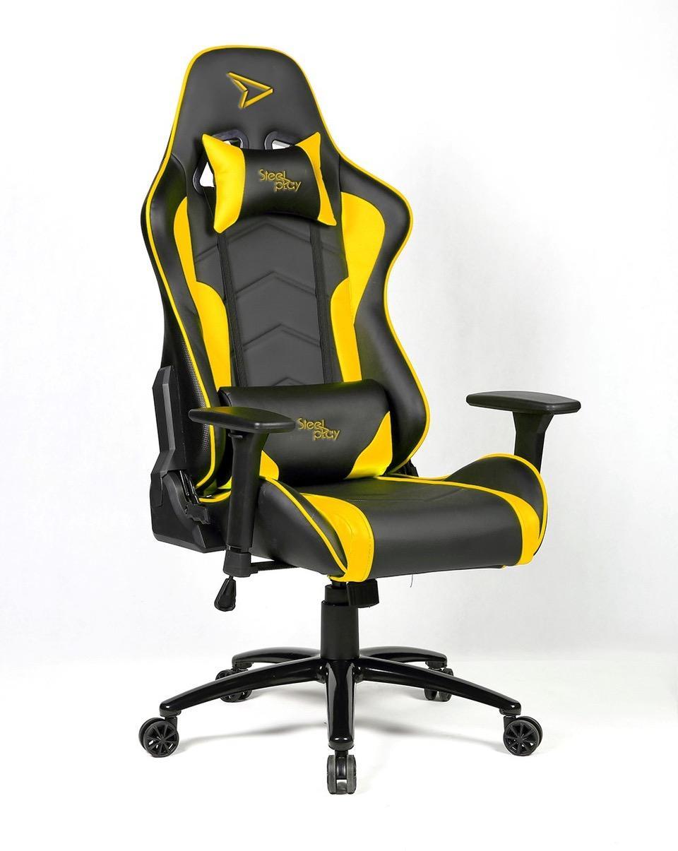 STEELPLAY - Gaming Seat Black/Yellow