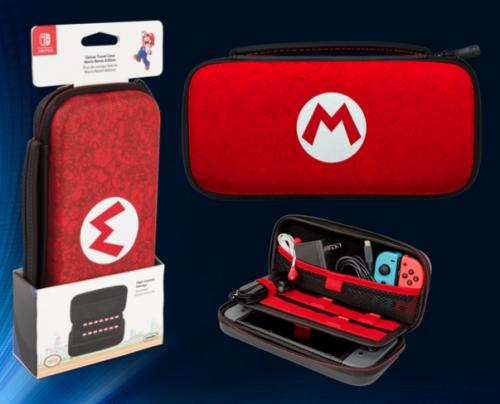 PDP - Official Deluxe Travel Case Mario for Nintendo Switch