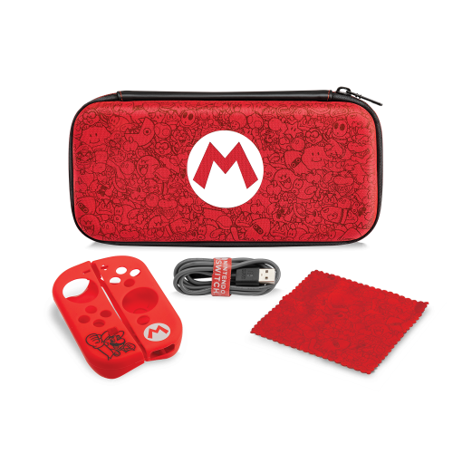 PDP - Official Starter Kit Mario for Nintendo Switch