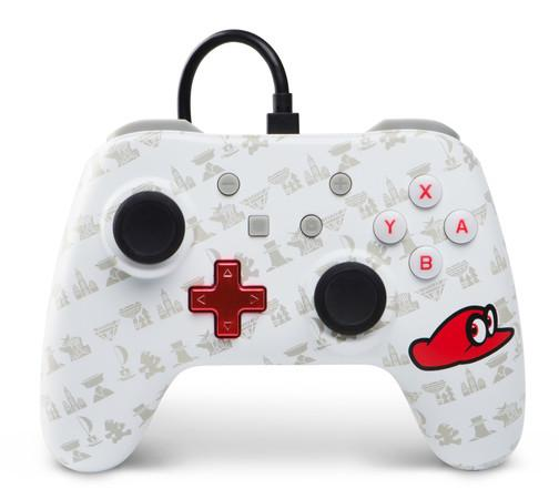 POWER A - Wired Controller Mario Odyssey for Nintendo Switch