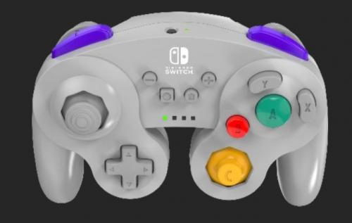 POWER A - Wireless Controller GameCube Grey for Nintendo Switch