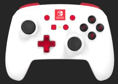 POWER A - Wireless Controller White for Nintendo Switch