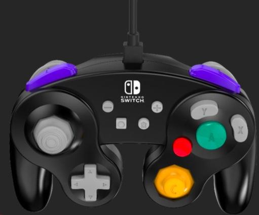 POWER A - Wired Controller GameCube Black for Nintendo Switch