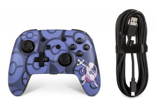 POWER A - Wired Controller Pokemon Mewtwo for Nintendo Switch