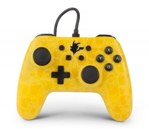 POWER A - Wired Controller Pokemon Pikachu Silhouette Nintendo Switch