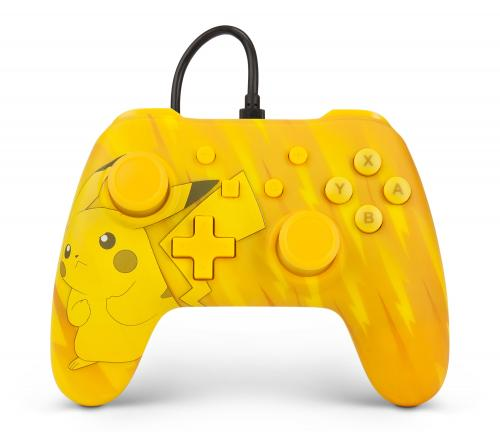 POWER A - Wired Controller Pokemon Total Pikachu Nintendo Switch