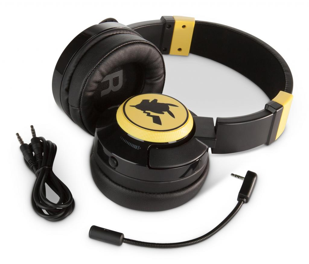 POWER A - Fusion Wired Gaming Headset Pikachu for SWITCH_1