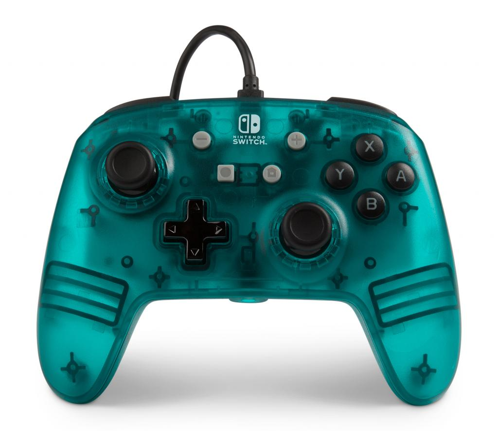 POWER A - Wired Controller Blue Frost for Nintendo Switch