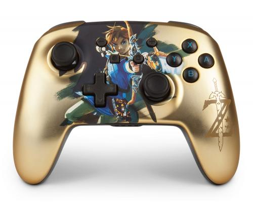 POWER A - Wireless Controller Zelda Chrome for Nintendo Switch
