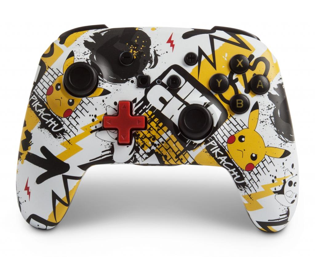 POWER A - Wireless Controller Pikachu Graffiti for Nintendo Switch_1
